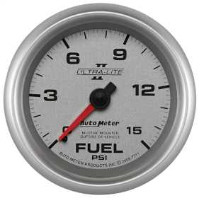 Ultra-Lite II® Mechanical Fuel Pressure Gauge
