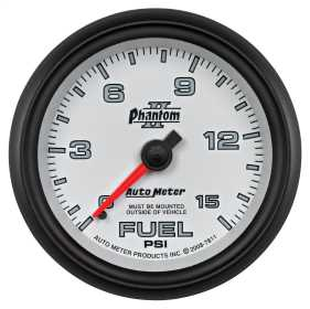Phantom II® Mechanical Fuel Pressure Gauge