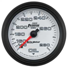 Phantom II® Mechanical Oil Temperature Gauge