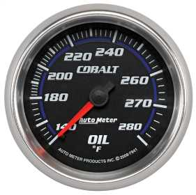 Cobalt™ Mechanical Oil Temperature Gauge