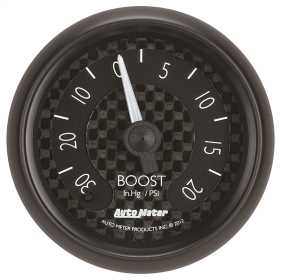 GT Series™ Mechanical Boost/Vacuum Gauge