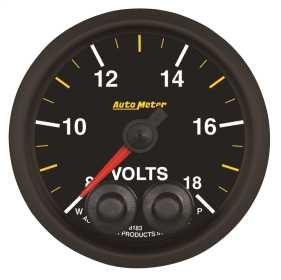 NASCAR Elite CAN Voltmeter Gauge