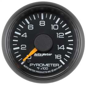 Chevy Factory Match Electric Pyrometer Gauge Kit