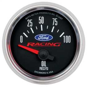 Ford Racing Series Electric Oil Pressure Gauge