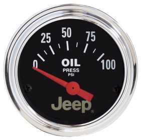 Jeep® Electric Oil Pressure Gauge