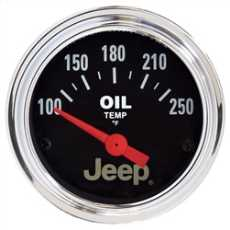 Transfer Case Temperature Gauge