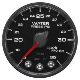 Spek-Pro™ NASCAR Water Pressure Gauge