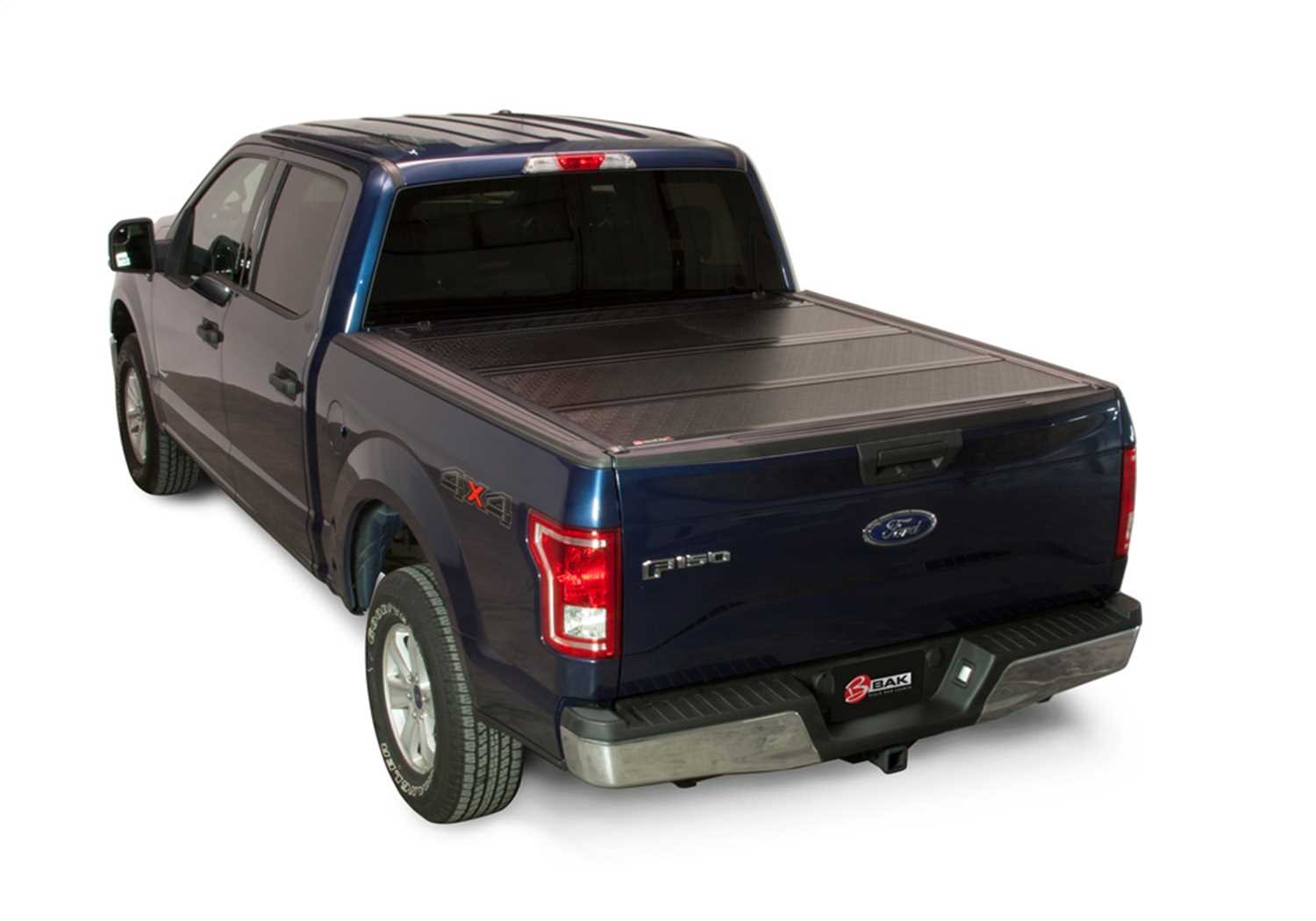 1126327 Bak Industries BAKFlip FiberMax Hard Folding Truck Bed Cover