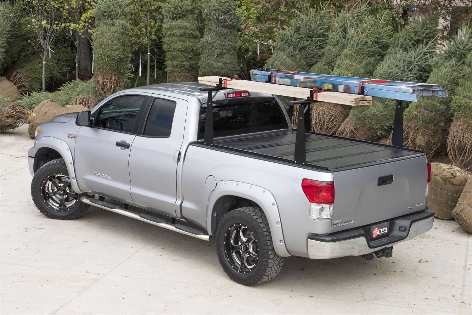 72106BT Bak Industries BAKFlip CS-F1 Hard Folding Truck Bed Cover/Integrated Rack System