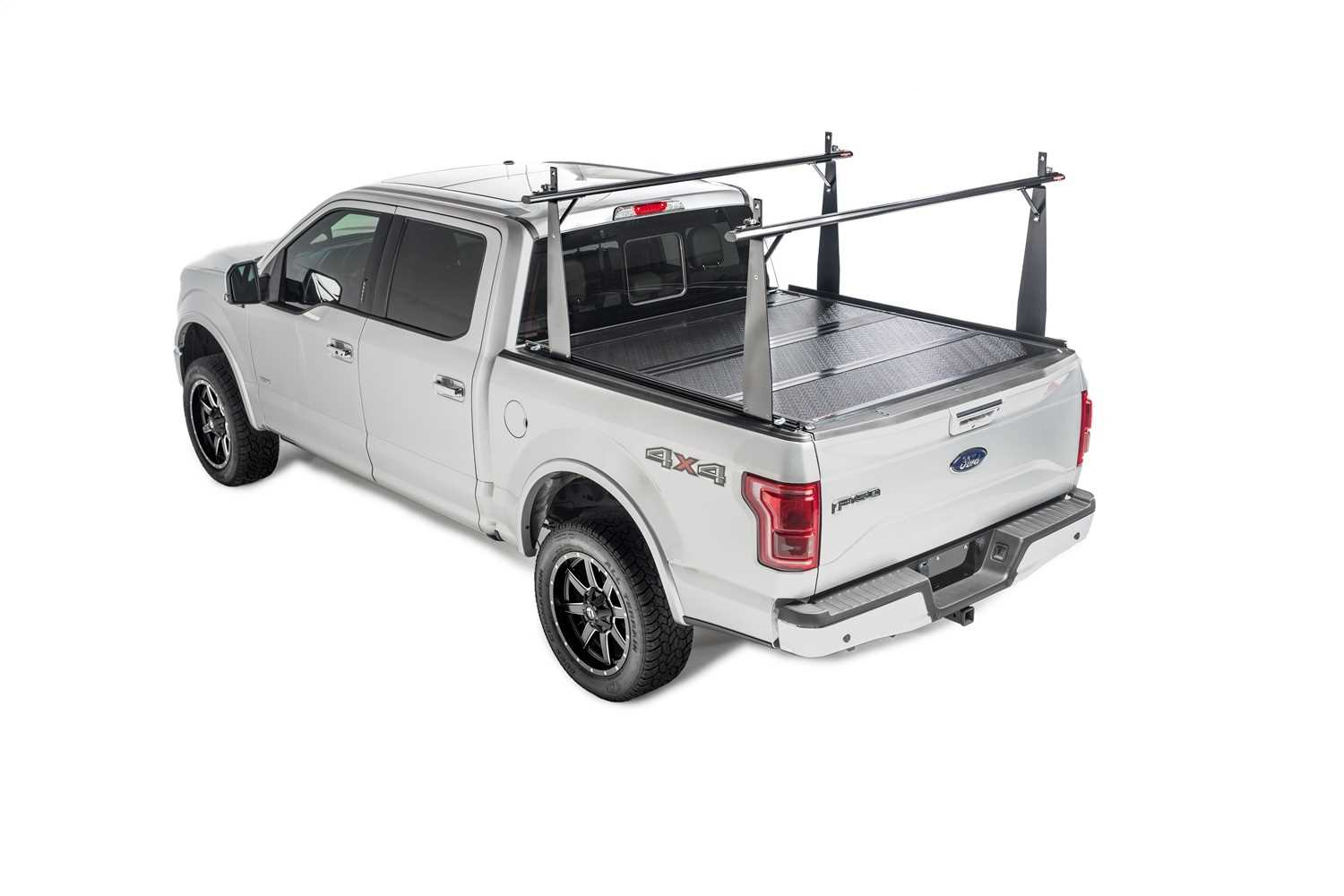 Bak Industries BAKFlip CS Hard Folding Truck Bed Cover/Integrated Rack System 26106BT
