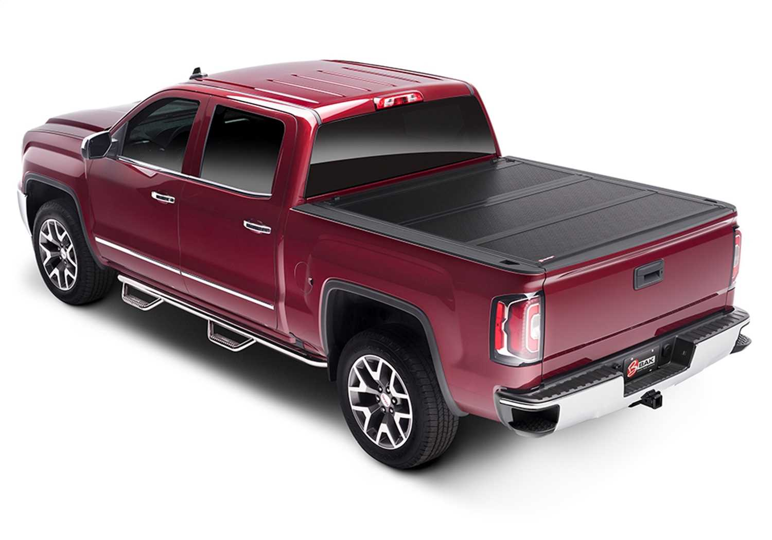 1126133 Bak Industries BAKFlip FiberMax Hard Folding Truck Bed Cover