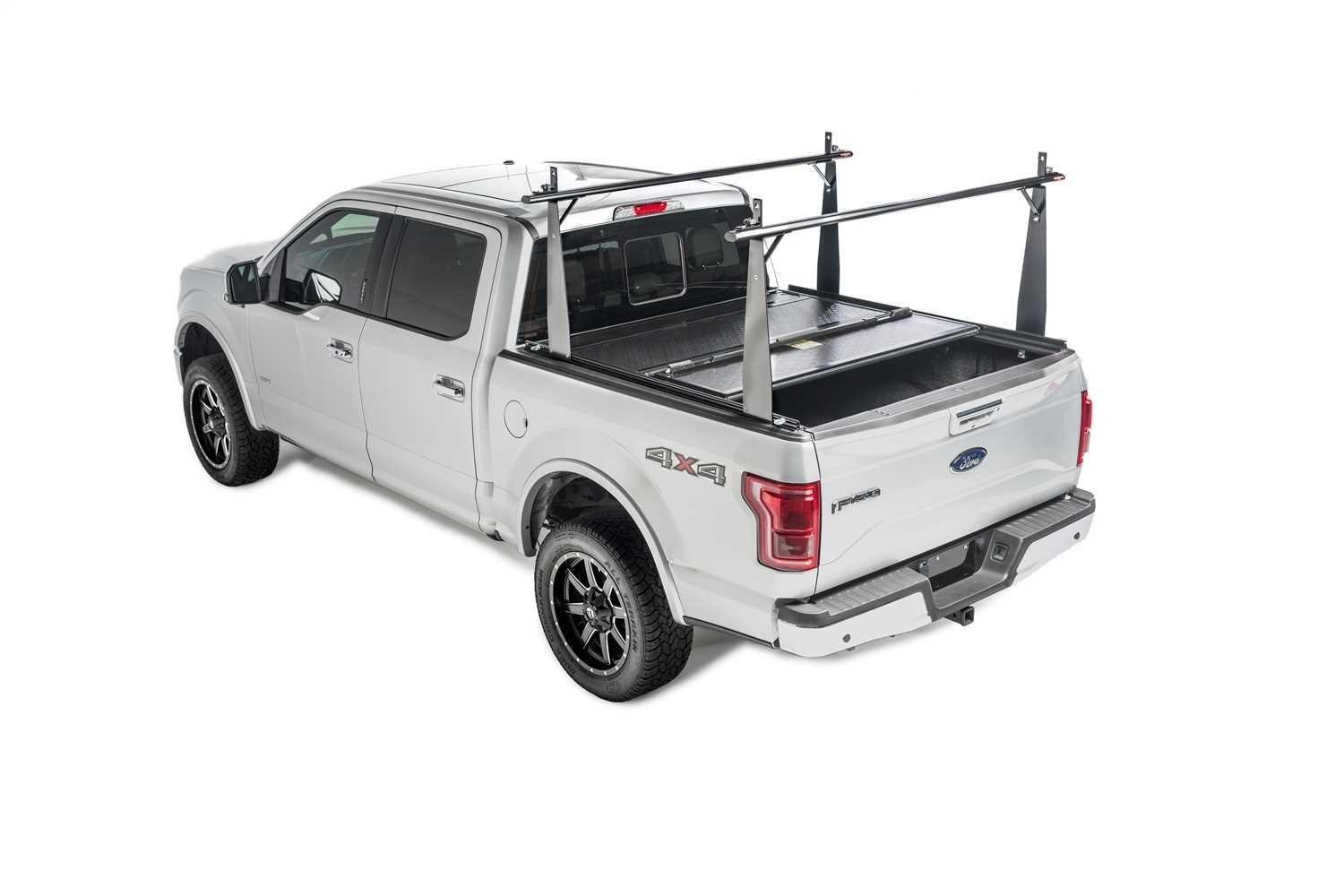 26504BT Bak Industries BAKFlip CS Hard Folding Truck Bed Cover/Integrated Rack System