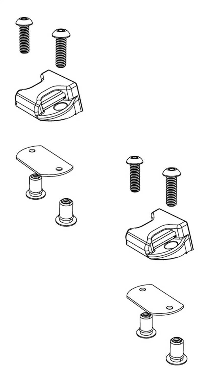 PARTS-356A0002 Bak Industries BAKFlip Buckle Kit
