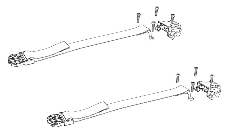 PARTS-356A0003 Bak Industries BAKFlip Buckle Kit