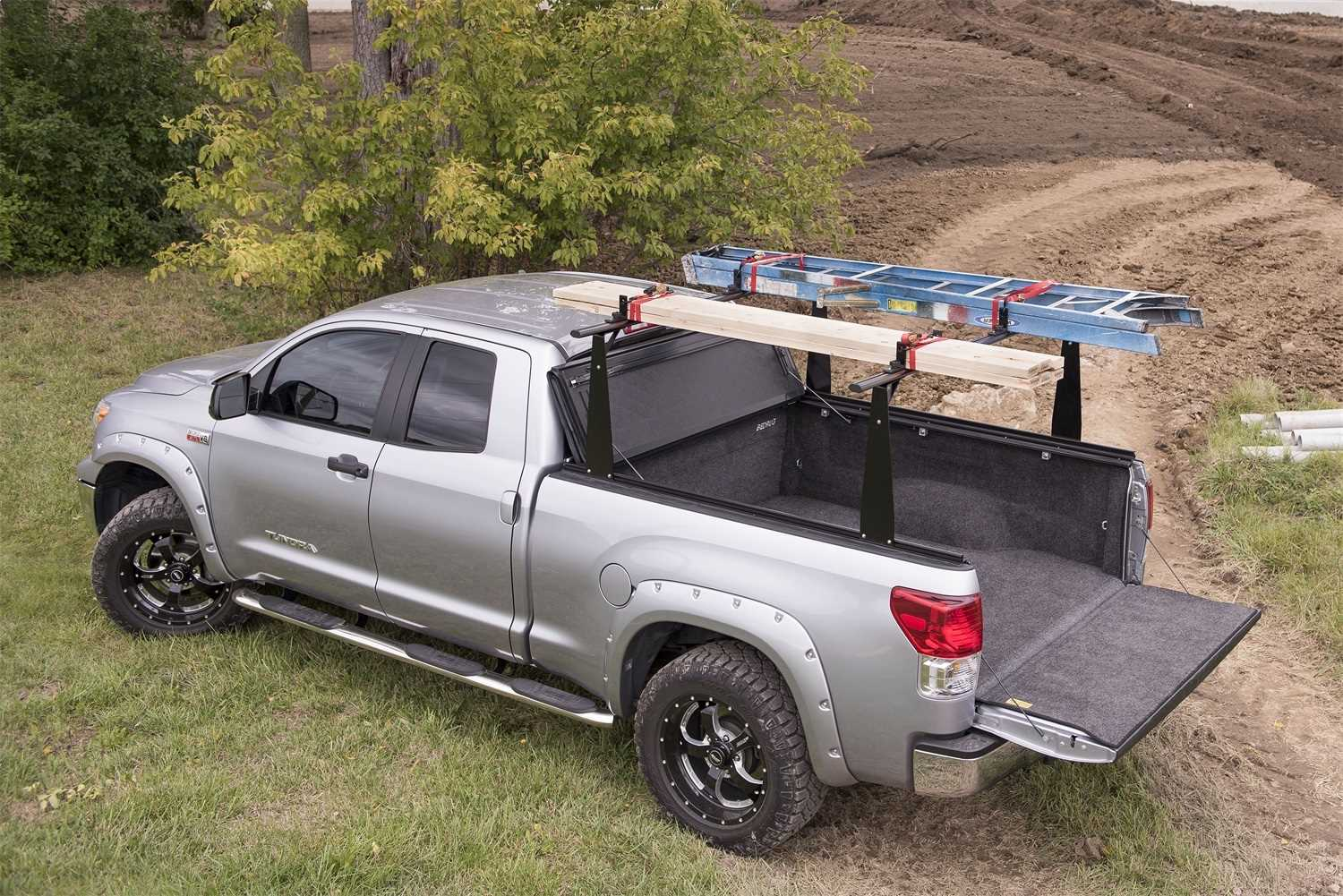 Bak Industries BAKFlip CS-F1 Hard Folding Truck Bed Cover/Integrated Rack System 72304BT
