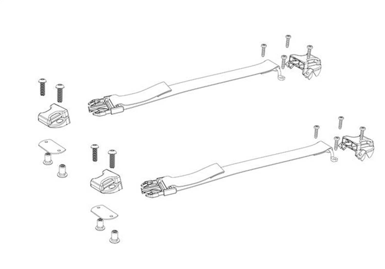 PARTS-356A0009 Bak Industries BAKFlip Buckle Kit