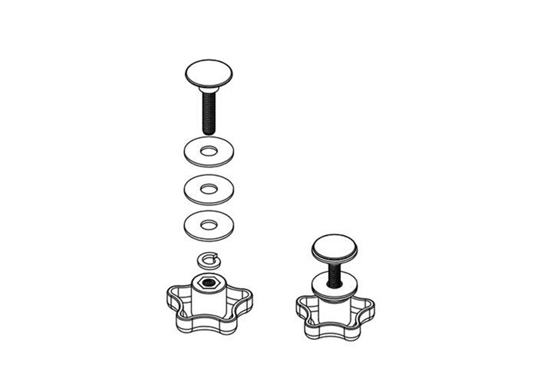 PARTS-254A0001 Bak Industries BAKFlip Elevator Bolt Assembly