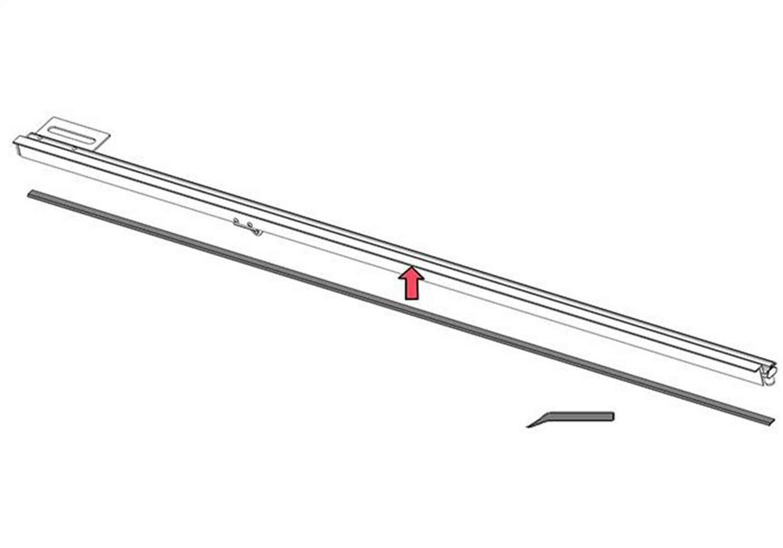 Bak Industries Flat Rail Seal PARTS-326A0010
