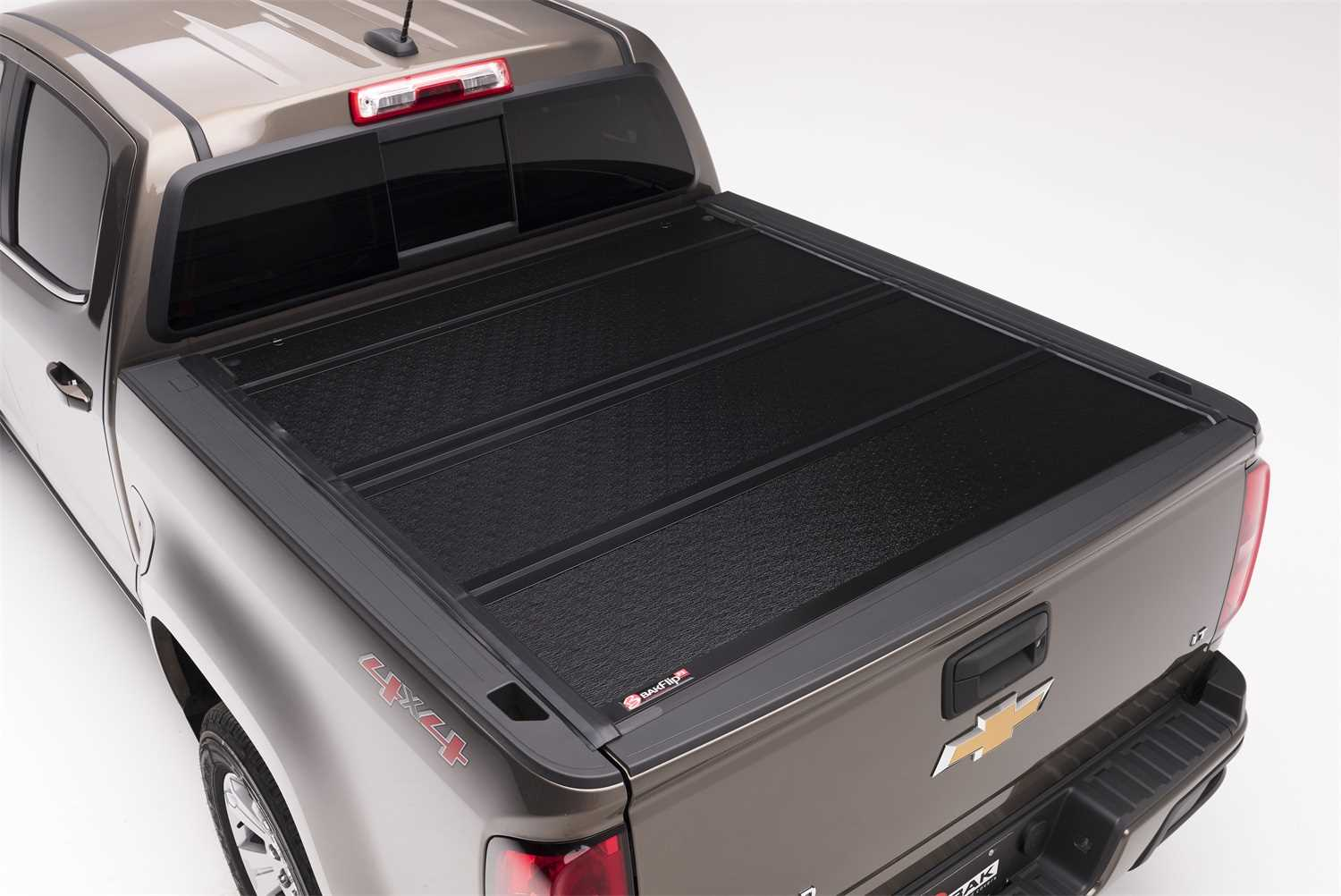 772104 Bak Industries BAKFlip F1 Hard Folding Truck Bed Cover