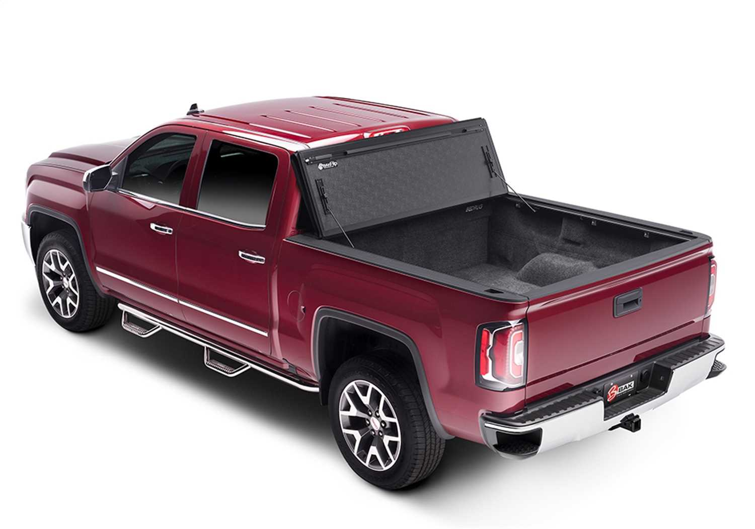 1126122 Bak Industries BAKFlip FiberMax Hard Folding Truck Bed Cover