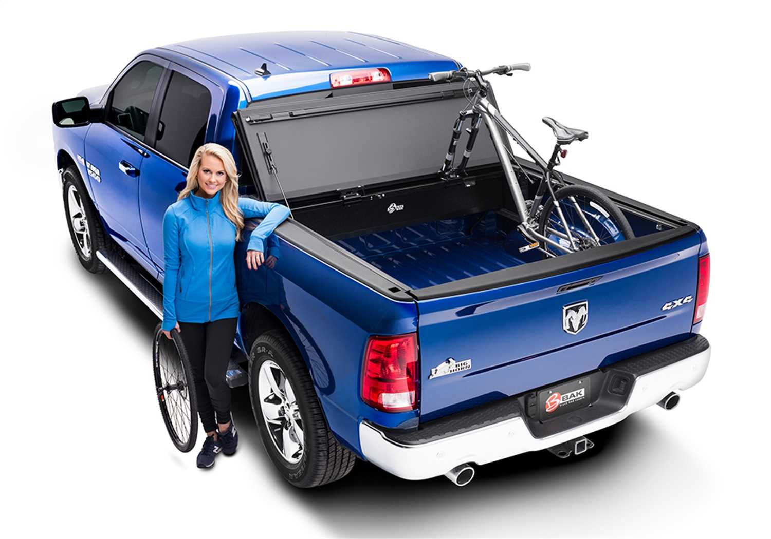 448223 Bak Industries BAKFlip MX4 Hard Folding Truck Bed Cover