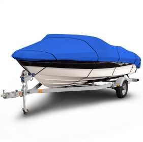 Budge 1200 Denier V-Hull Boat Cover