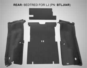 BedTred® Cargo Kit BTLJ04R