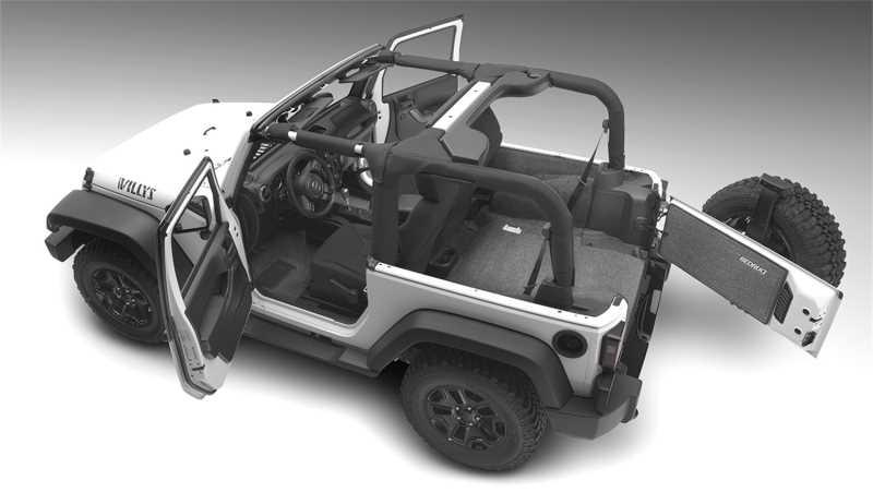 BedRug® Cargo Kit BRJL18R4