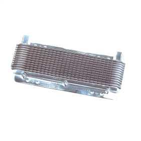 Polished SuperCooler Automatic Transmission Oil Cooler