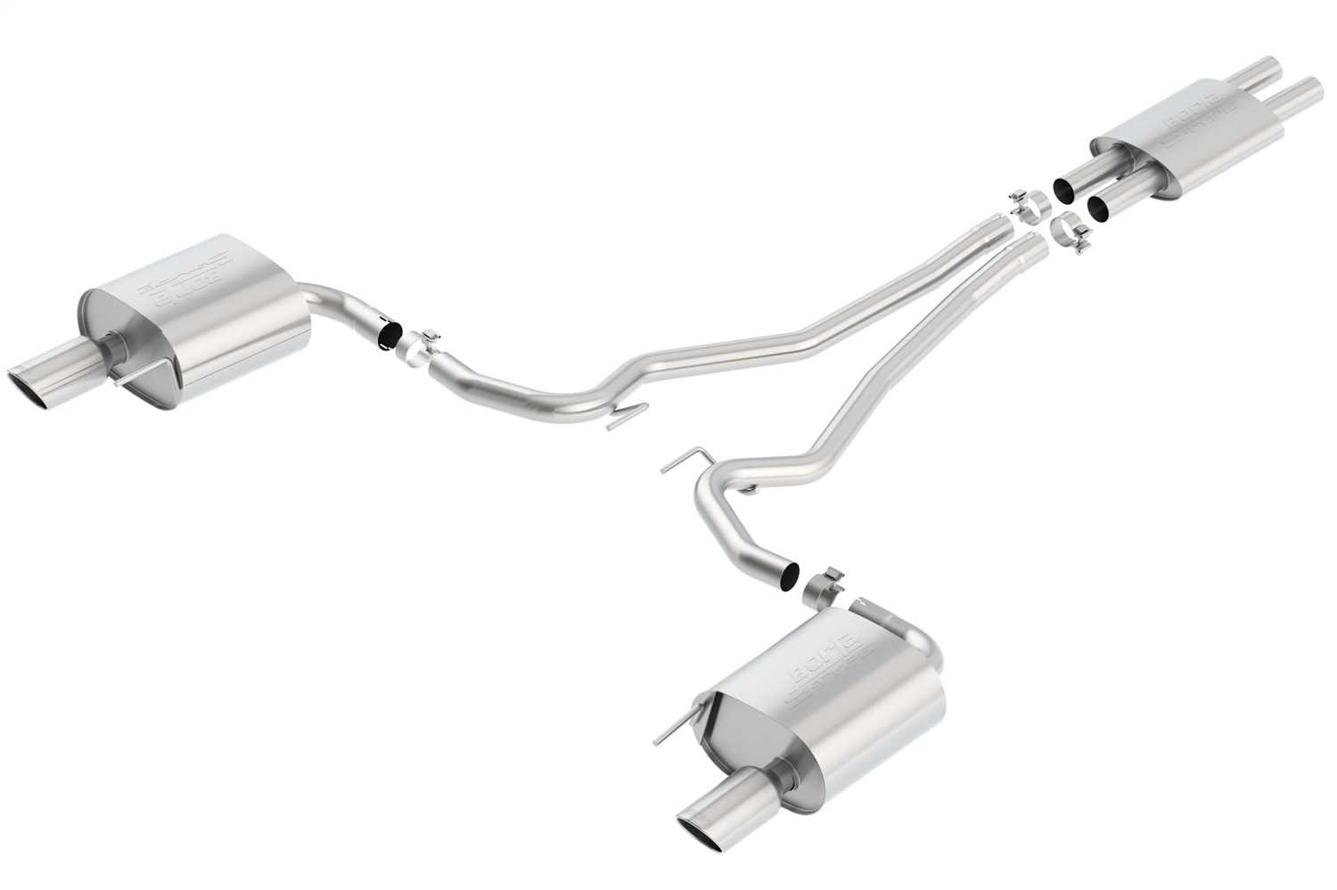 Borla S-Type Cat-Back™ Exhaust System 140587 140587
