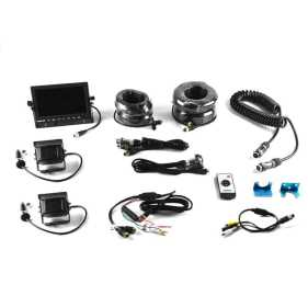Universal Trailer Rear Vision Dual Camera System