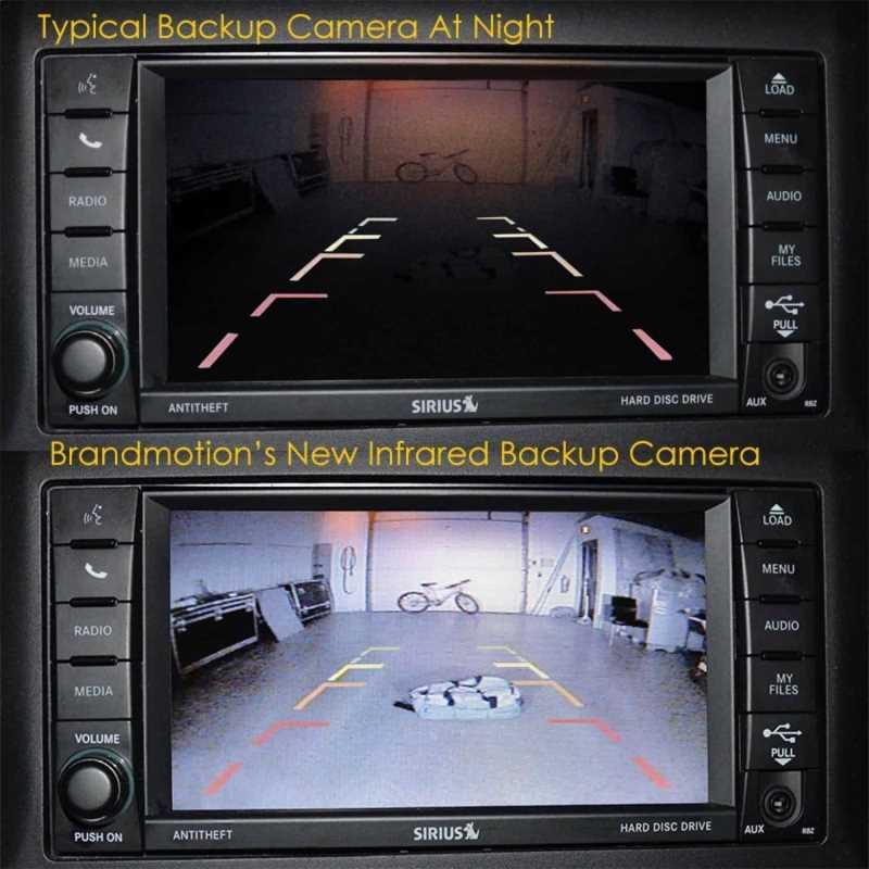 Wheel Mount Rear Vision Camera Kit 9002-8857V2