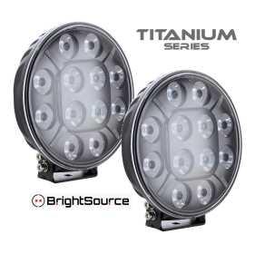 Titanium Series LED Driving Light Kit