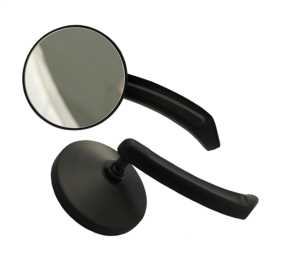 Motorcycle Small Round Mirror Kit