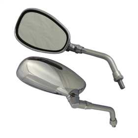 Motorcycle Classic Look Mirror Kit