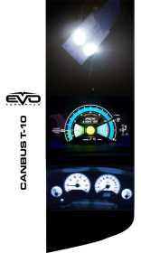 EVO Formance T-10 LED Bulbs