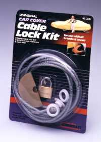 Car Cover Cable Lock Kit