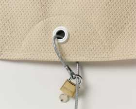 Motorcycle Cover Cable Lock Kit