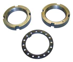 Axle Spindle Nut And Washer Kit