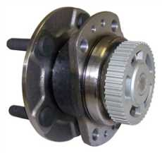 Wheel Bearing and Hub Assembly