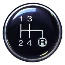 Manual Trans Shift Knob Emblem