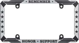 Military Appreciation License Plate Frame