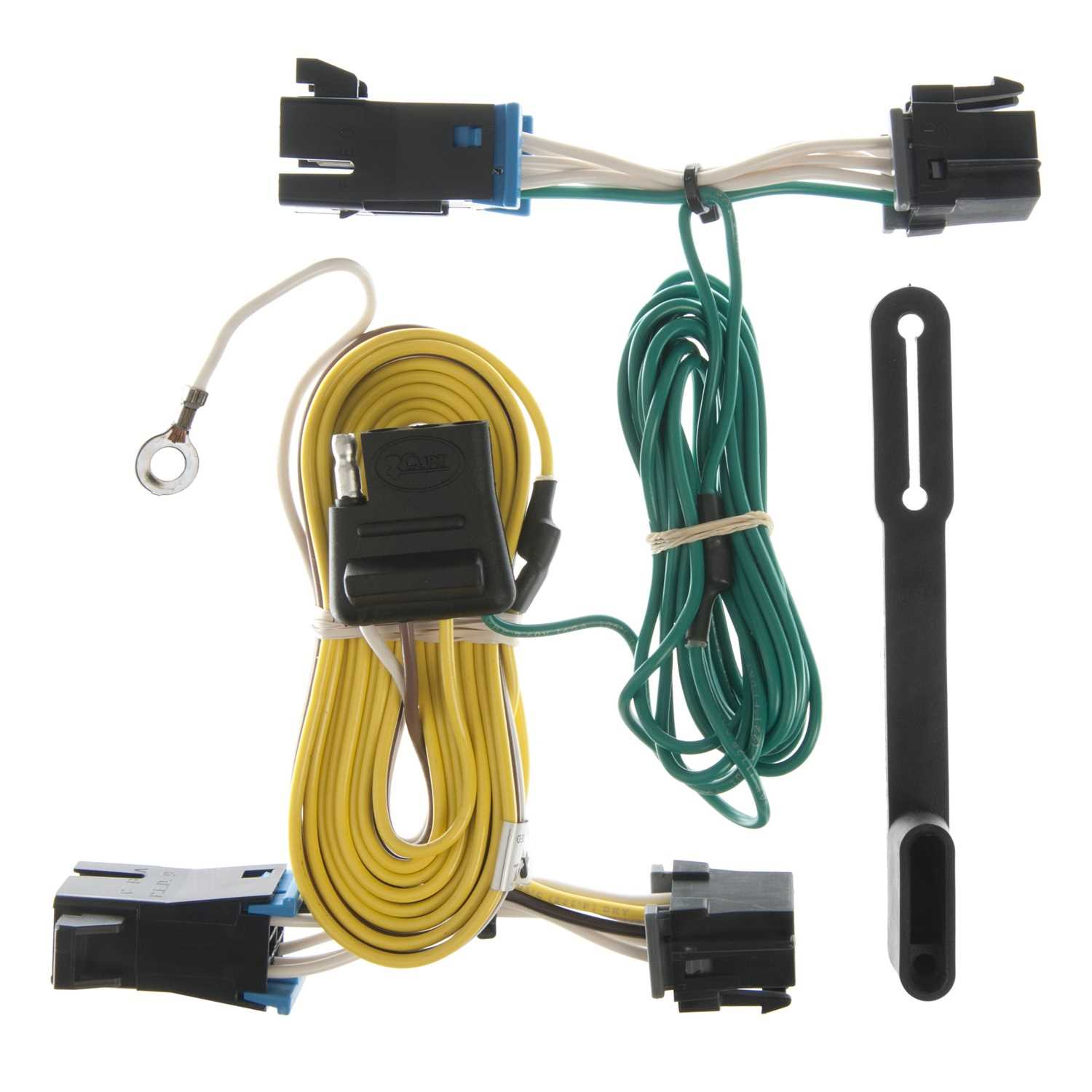 Custom Wiring Harness Johns Trim Shop Curt Tconnector Vehicle For Factory Tow Package 5 55352