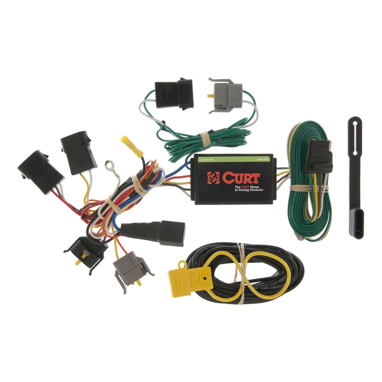 Custom Wiring Harness Johns Trim Shop Curt Tconnector Vehicle For Factory Tow Package 5 55366