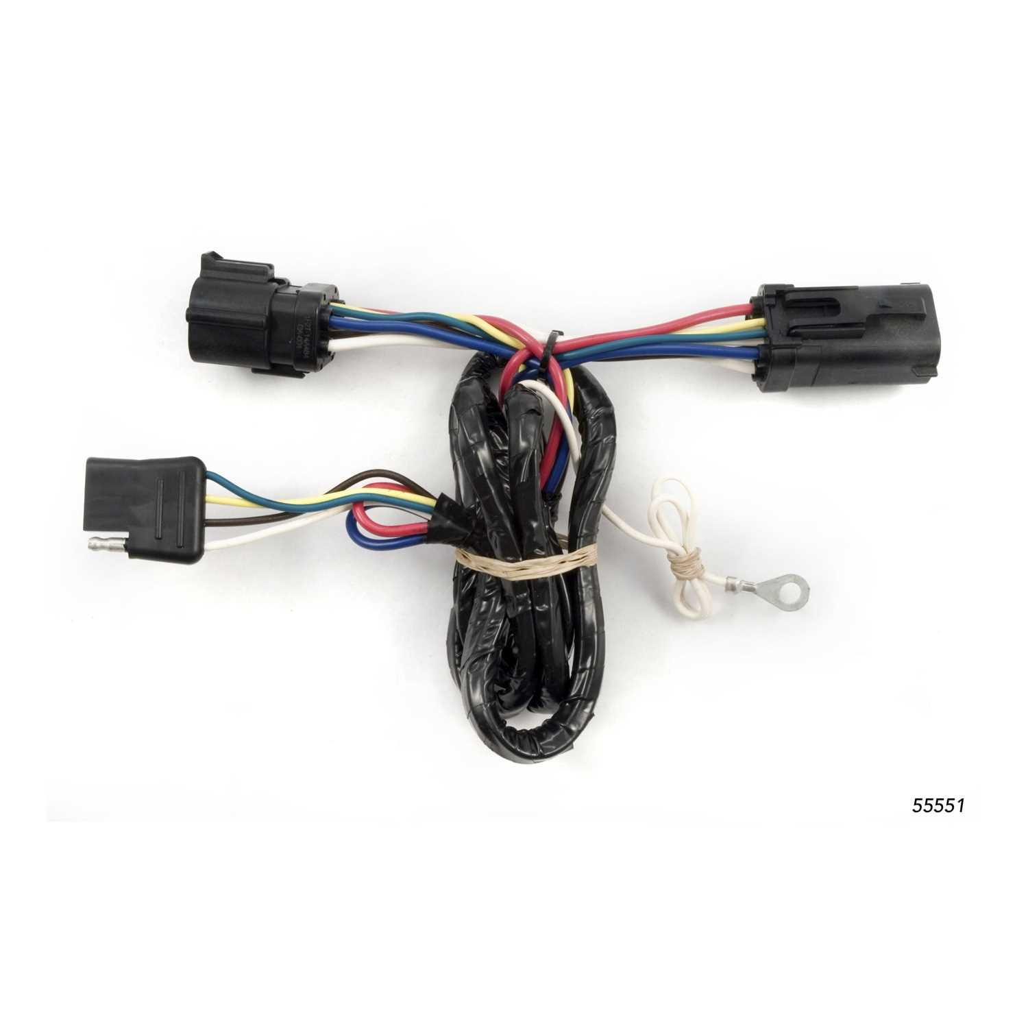 CURT Custom Wiring Harness 55551 - 55551