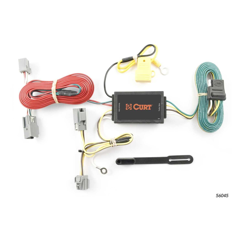 Custom Wiring Harness 4 Wheels Performance Curt 56045