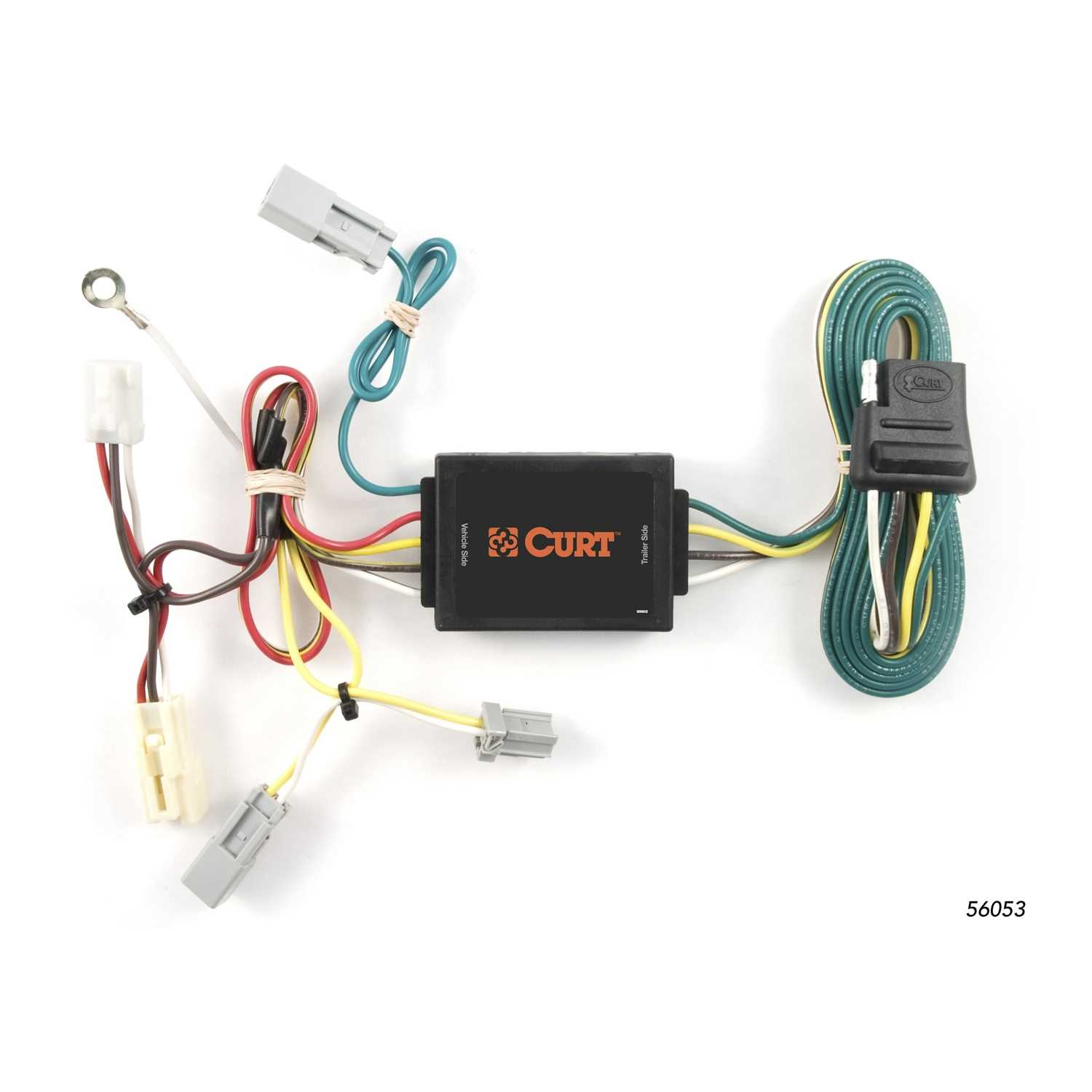curt custom wiring harness 56053
