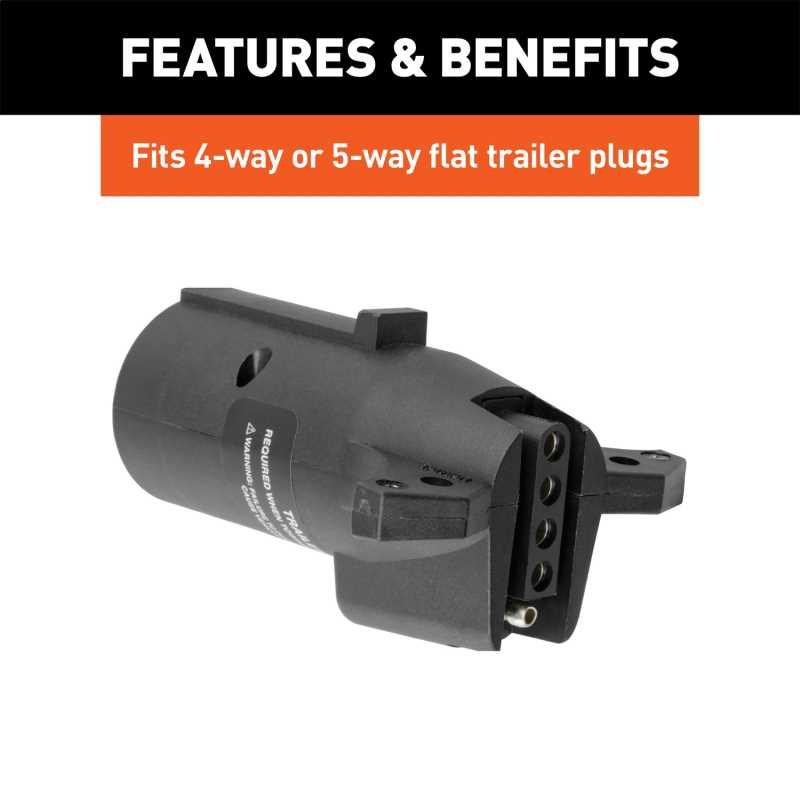 7-Way LED Trailer Light Adapter 57004