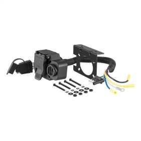 7-Way Round RV To 4-Way Flat Adapter 57102