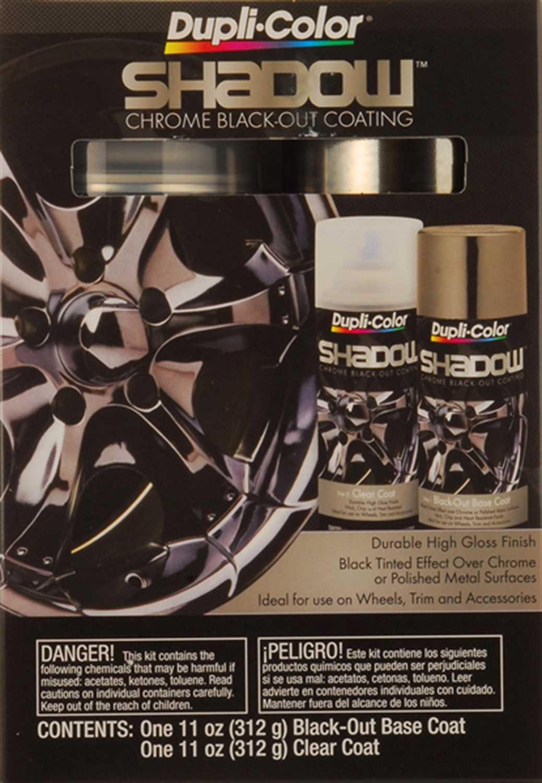 Dupli-Color Paint Dupli-Color® Shadow™ Chrome Black-Out Coating Kit SHD1000  SHD1000